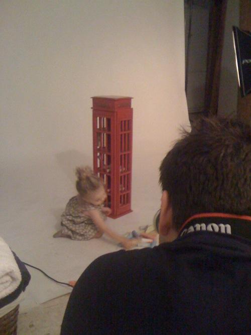 Fotos en estudio con Estela por el fotógrafo Vicente Alfonso