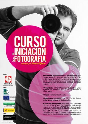 Curso de inciación a la fotografía impartido por el fotógrafo profesional Vicente Alfonso
