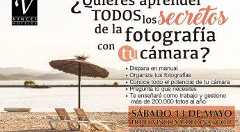 Curso de Fotografía, Vicente Alfonso, Hotel Vinncci Valdecañas Golf, Aprende Fotografía, Técnicas fotográficas, Playa artificial