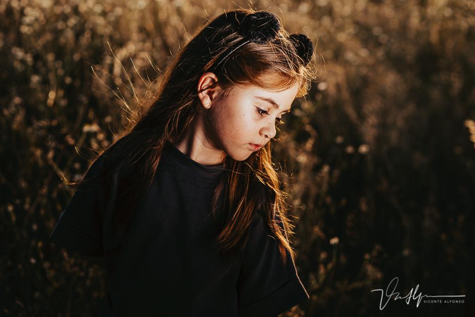 Fotografía natural con luz artificial en exteriores