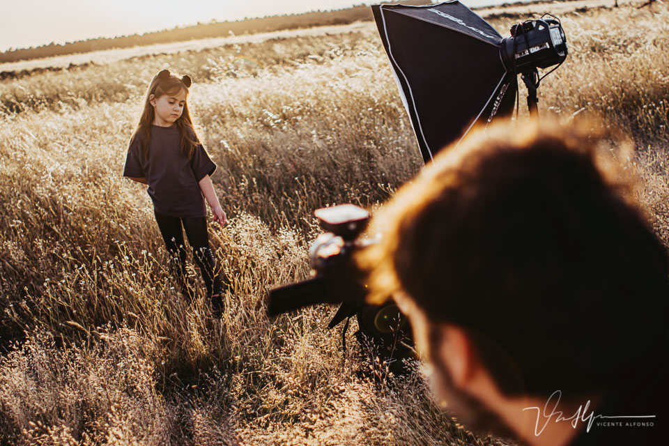 Trabajos de exteriores fotográficos