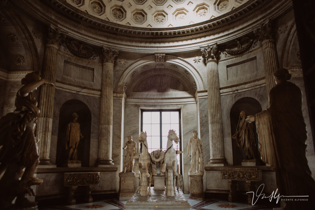 Estatuas en Vaticano.