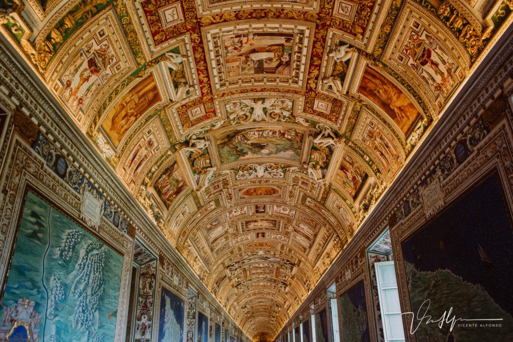 Pasillos del Vaticano.
