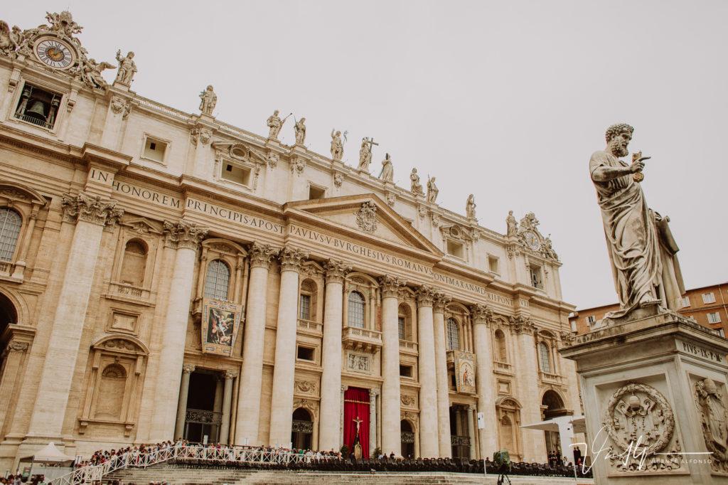 Plaza del Vaticano.