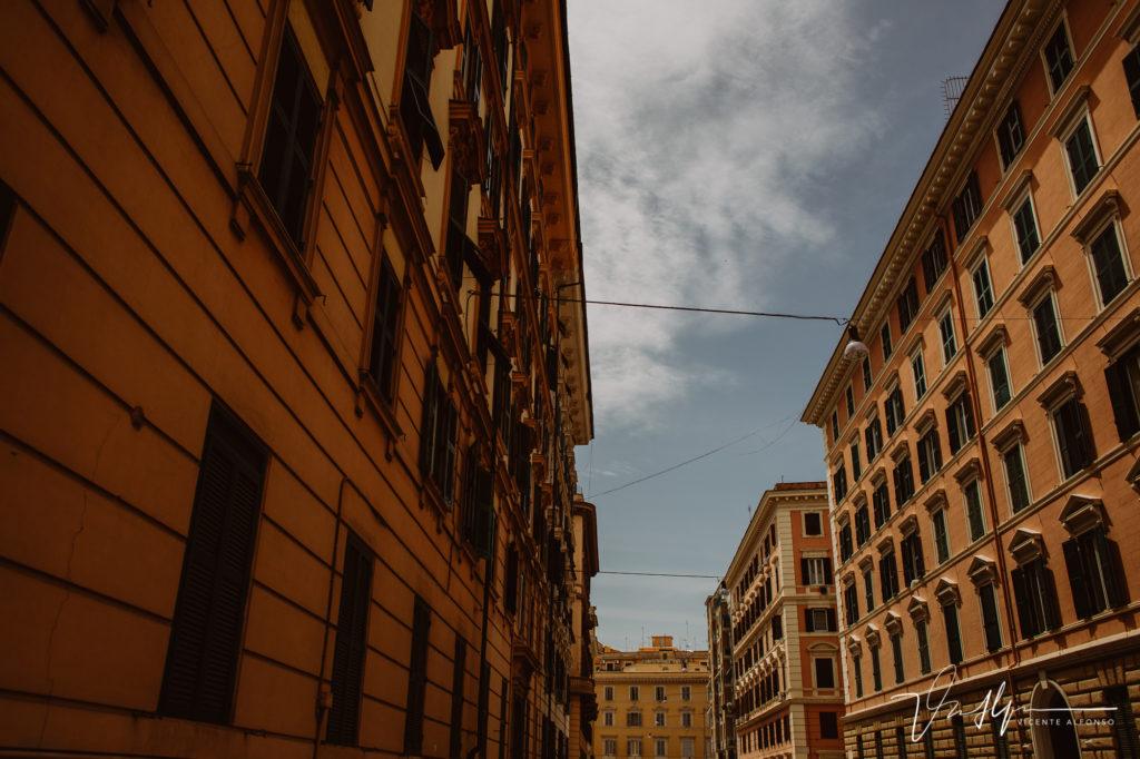 Edificios. Paseo fotográfico por la ciudad de Roma