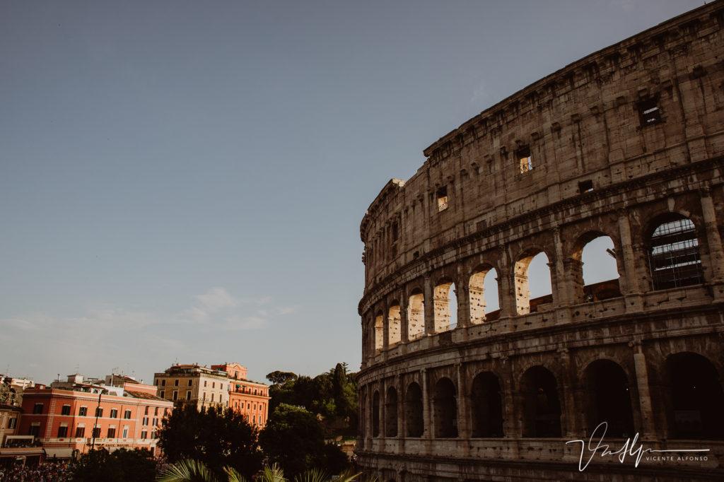 Fachada Coliseo Romano.