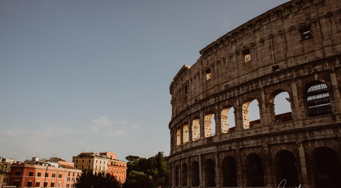 El Coliseo Romano por Vicente Alfonso