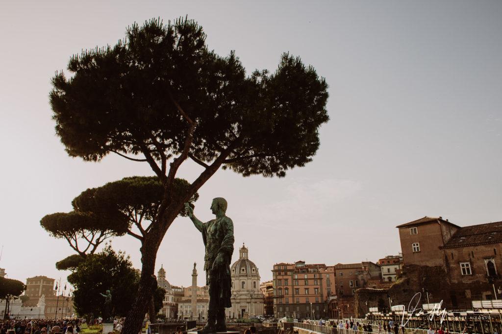 Estatuas en Roma. Paseo fotográfico por la ciudad de Roma