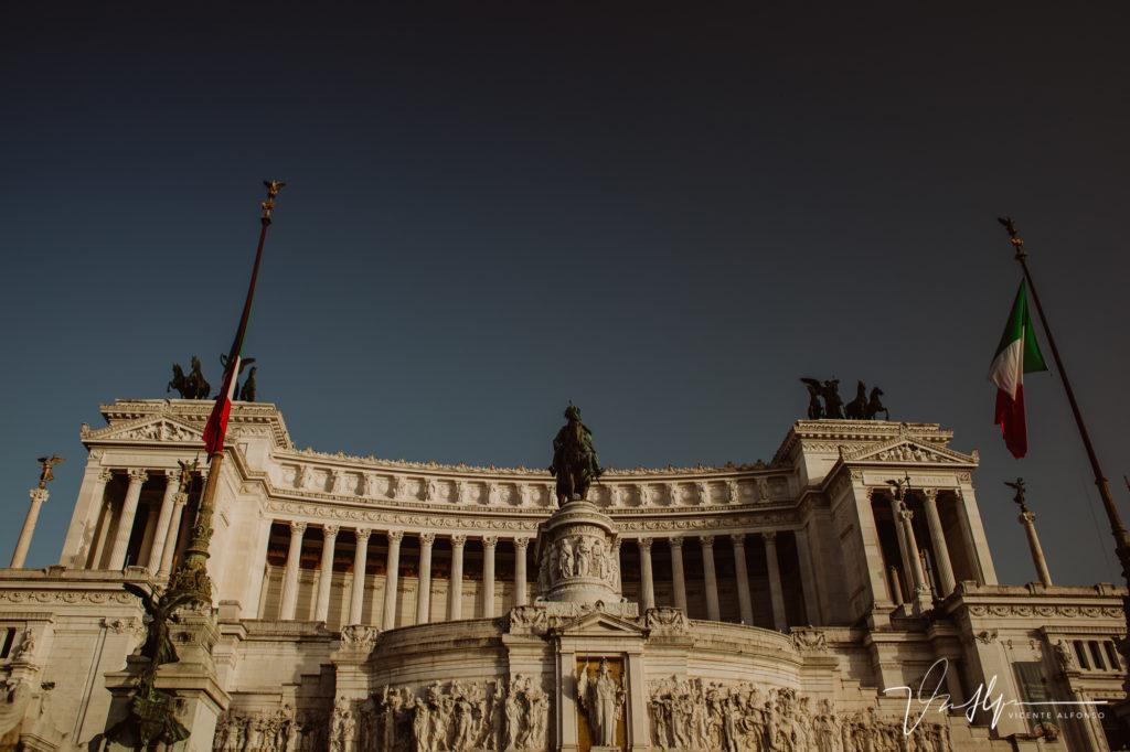 Edificios Romanos. Paseo fotográfico por la ciudad de Roma