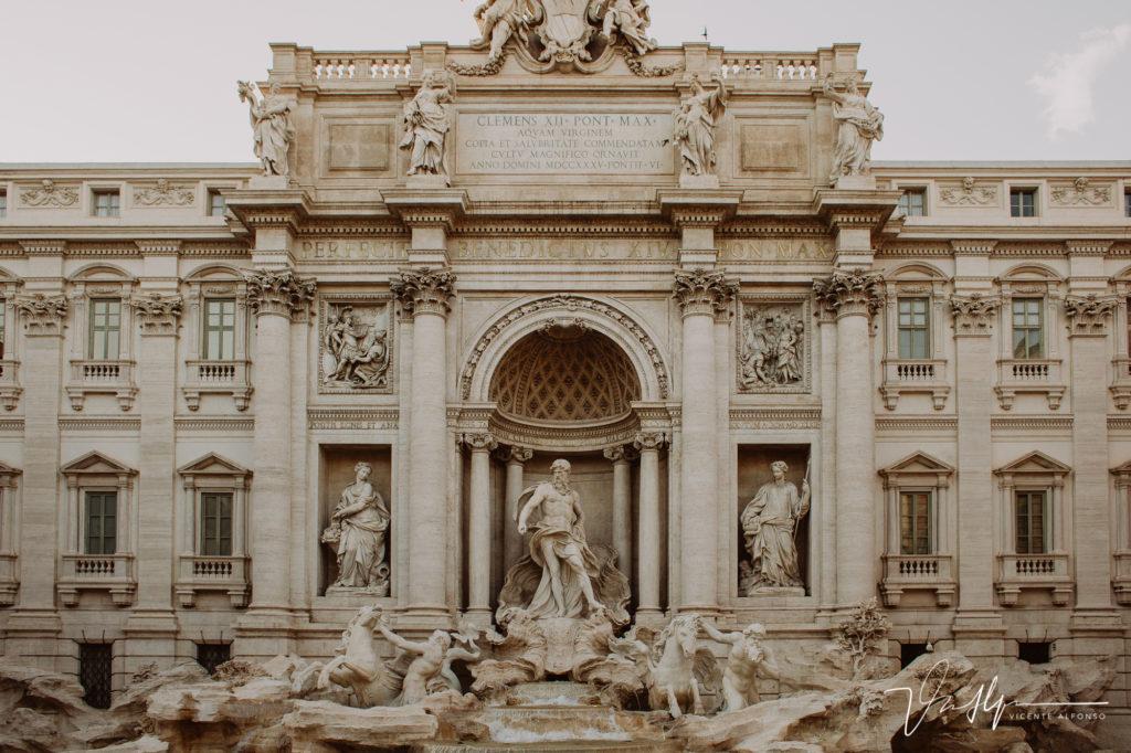 Fontana de Trevi. Paseo fotográfico por la ciudad de Roma