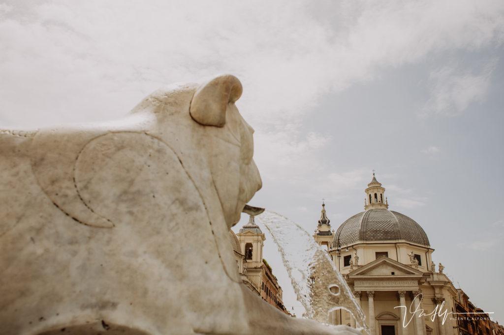 Agua en Roma.
