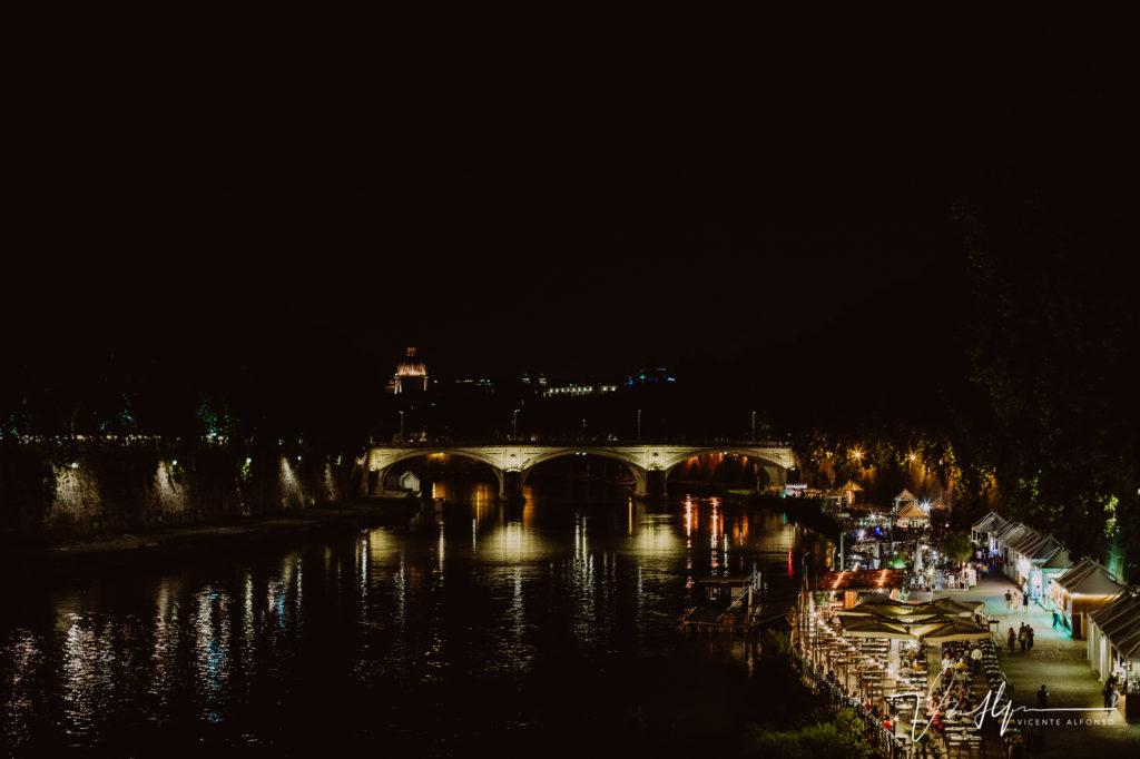Vaticano de noche. Paseo fotográfico por la ciudad de Roma