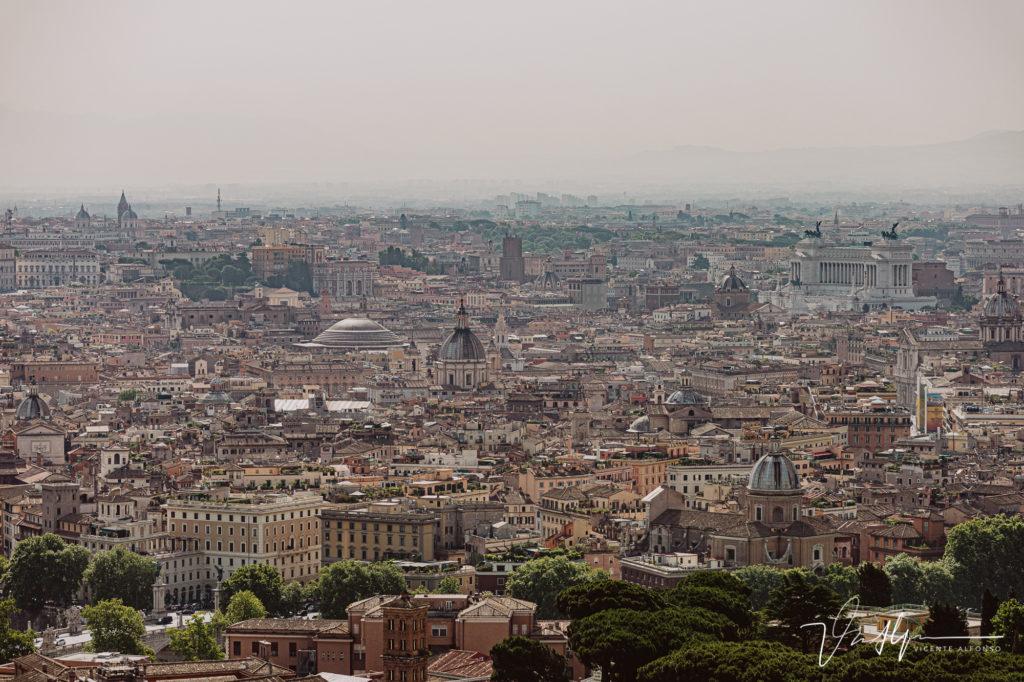 Vistas desde la Basílica de San Pedro.