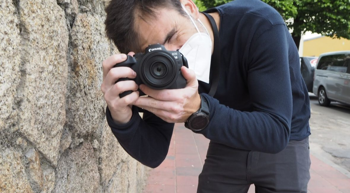 Vicente Alfonso fotografiado por Emma Alfonso